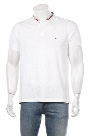 Мъжка тениска Tommy Hilfiger, Размер L, Цвят Бял, Памук, Цена 55,76лв.