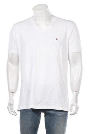 Мъжка тениска Tommy Hilfiger, Размер XXL, Цвят Бял, 95% памук, 5% еластан, Цена 46,92лв.
