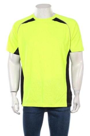 Мъжка тениска Trespass, Размер L, Цвят Жълт, Полиестер, Цена 22,32лв.