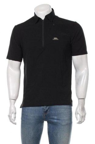 Męski T-shirt Trespass, Rozmiar S, Kolor Czarny, 89% poliester, 11% elastyna, Cena 72,00zł