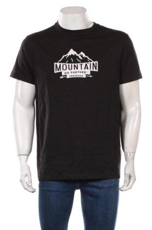 Męski T-shirt Trespass, Rozmiar L, Kolor Czarny, Cena 72,00zł