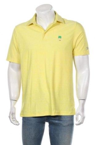 Мъжка тениска Under Armour, Размер M, Цвят Жълт, Цена 20,30лв.
