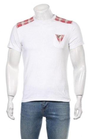 Męski T-shirt Voi Jeans, Rozmiar S, Kolor Biały, Bawełna, Cena 88,00zł