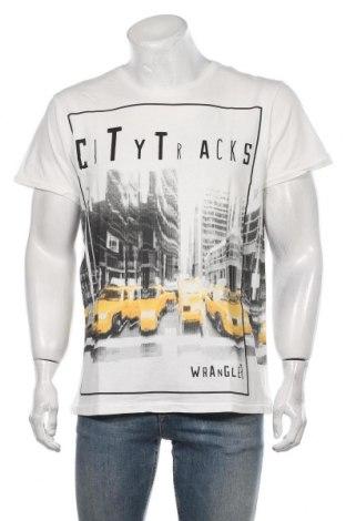Pánské tričko  Wrangler, Velikost XL, Barva Bílá, Bavlna, Cena  496,00Kč
