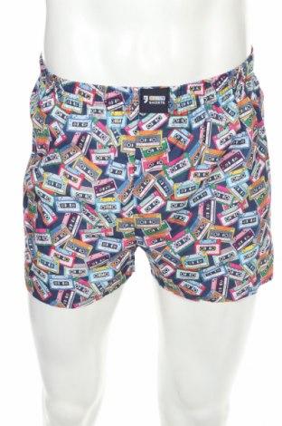 Boxeri bărbătești Happy Shorts, Mărime S, Culoare Multicolor, Bumbac, Preț 88,82 Lei