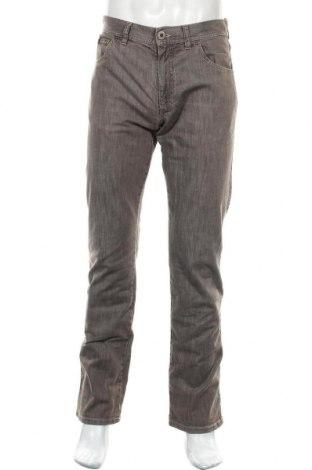 Мъжки дънки Alberto, Размер M, Цвят Кафяв, 98% памук, 2% еластан, Цена 42,75лв.