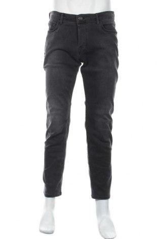 Мъжки дънки AllSaints, Размер L, Цвят Черен, 93% памук, 5% полиестер, 2% еластан, Цена 46,20лв.