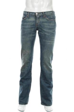 Мъжки дънки Atos Lombardini, Размер M, Цвят Син, Памук, Цена 43,50лв.