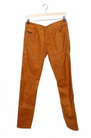Мъжки дънки Diesel Black Gold, Размер S, Цвят Жълт, 55% памук, 24% лиосел, 3% еластан, Цена 327,98лв.