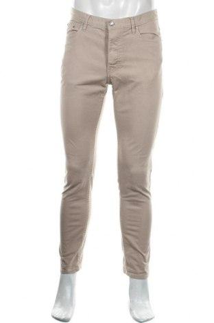 Мъжки дънки H&M, Размер M, Цвят Бежов, 98% памук, 2% еластан, Цена 24,00лв.
