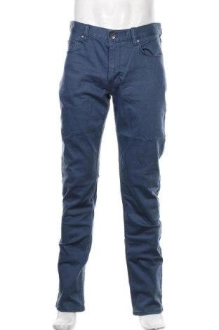 Blugi de bărbați Montego, Mărime M, Culoare Albastru, 98% bumbac, 2% elastan, Preț 170,23 Lei