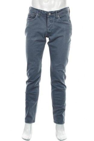 Blugi de bărbați Pepe Jeans, Mărime M, Culoare Albastru, 99% bumbac, 1% elastan, Preț 128,29 Lei
