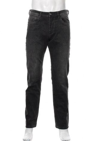 Мъжки дънки Tom Tailor, Размер M, Цвят Черен, 70% памук, 28% полиестер, 2% еластан, Цена 36,90лв.