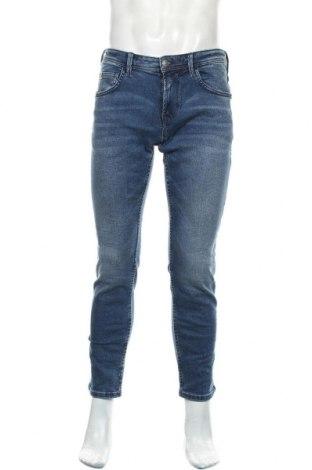 Мъжки дънки Tom Tailor, Размер M, Цвят Син, 82% памук, 16% полиестер, 2% еластан, Цена 36,90лв.