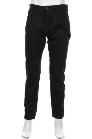 Мъжки дънки Tom Tailor, Размер M, Цвят Черен, 99% памук, 1% еластан, Цена 32,40лв.