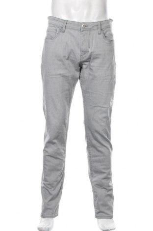 Мъжки дънки Tom Tailor, Размер L, Цвят Сив, 99% памук, 1% еластан, Цена 36,90лв.