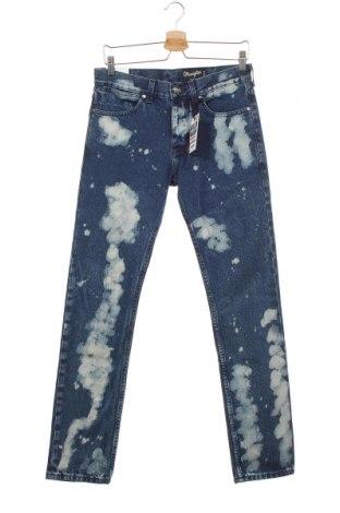 Pánské džíny  Wrangler, Velikost S, Barva Modrá, Bavlna, Cena  689,00Kč
