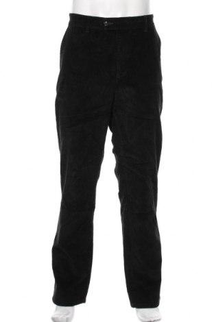 Pantaloni raiați de bărbați Christian Berg, Mărime XL, Culoare Verde, 98% bumbac, 2% elastan, Preț 157,90 Lei
