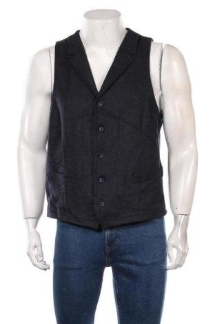 Vestă de bărbați Digel, Mărime XL, Culoare Albastru, 60% lână, 38% poliester, 2% elastan, Preț 72,95 Lei