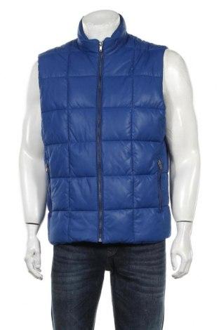 Vestă de bărbați H&M, Mărime L, Culoare Albastru, Poliester, Preț 103,62 Lei