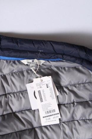 Мъжки елек Tom Tailor, Размер XL, Цвят Син, Полиестер, Цена 59,25лв.
