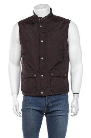 Мъжки елек Zara Man, Размер L, Цвят Кафяв, Цена 39,90лв.