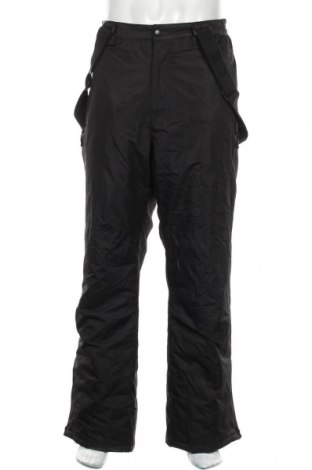 Мъжки гащеризон за зимни спортове Alpinetek, Размер XL, Цвят Черен, Полиестер, Цена 75,60лв.