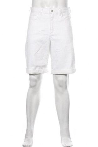 Мъжки къс панталон, Размер L, Цвят Бял, Цена 21,44лв.