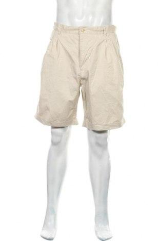 Мъжки къс панталон Conte Of Florence, Размер L, Цвят Екрю, Памук, Цена 25,50лв.