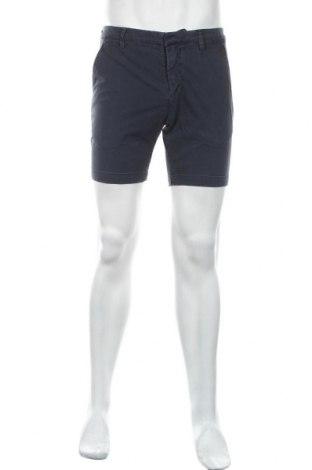 Pantaloni scurți de bărbați Dondup, Mărime M, Culoare Albastru, 96% bumbac, 4% elastan, Preț 89,53 Lei