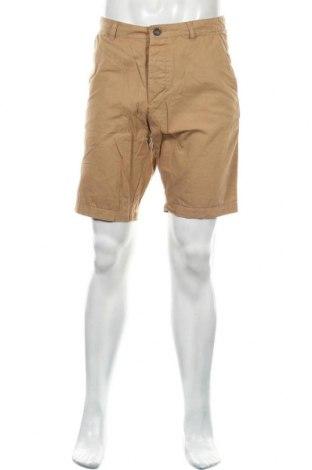 Męskie szorty H&M Divided, Rozmiar S, Kolor Beżowy, 100% bawełna, Cena 60,00zł