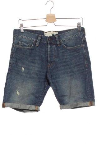 Pantaloni scurți de bărbați H&M L.O.G.G., Mărime S, Culoare Albastru, Bumbac, Preț 69,63 Lei