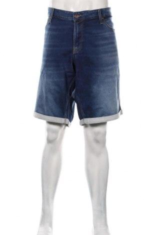 Pantaloni scurți de bărbați Jack & Jones, Mărime 3XL, Culoare Albastru, 77% bumbac, 22% poliester, 1% elastan, Preț 170,23 Lei