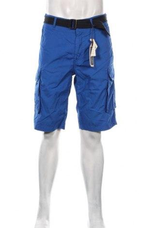 Pantaloni scurți de bărbați Petrol Industries, Mărime L, Culoare Albastru, Bumbac, Preț 145,56 Lei