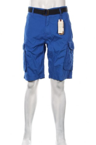 Pantaloni scurți de bărbați Petrol Industries, Mărime XL, Culoare Albastru, Bumbac, Preț 128,29 Lei
