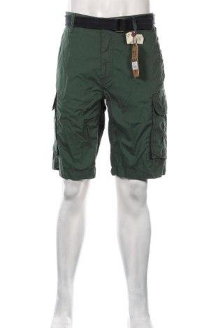 Pantaloni scurți de bărbați Petrol Industries, Mărime XL, Culoare Verde, Bumbac, Preț 145,56 Lei