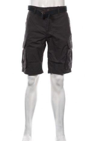 Pantaloni scurți de bărbați Petrol Industries, Mărime XL, Culoare Gri, Bumbac, Preț 145,56 Lei