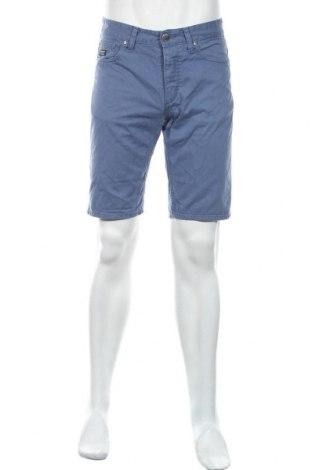 Pantaloni scurți de bărbați Produkt by Jack & Jones, Mărime M, Culoare Albastru, Bumbac, Preț 72,95 Lei