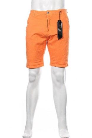 Męskie szorty RG 512, Rozmiar M, Kolor Pomarańczowy, 98% bawełna, 2% elastyna, Cena 118,00zł