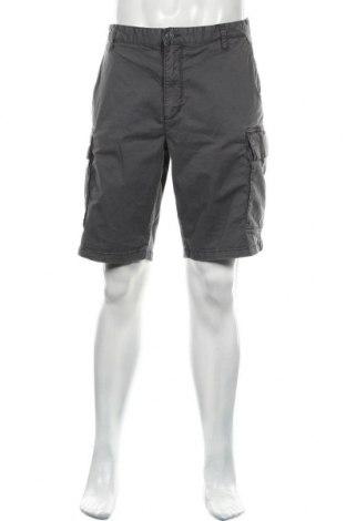 Pantaloni scurți de bărbați S.Oliver, Mărime XL, Culoare Gri, 98% bumbac, 2% elastan, Preț 61,68 Lei