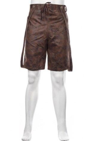 Pantaloni scurți de bărbați Smog, Mărime M, Culoare Maro, 100% poliester, Preț 154,35 Lei
