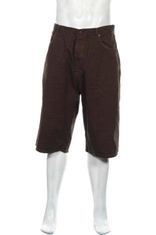 Мъжки къс панталон Tom Tailor, Размер L, Цвят Кафяв, Памук, Цена 21,75лв.
