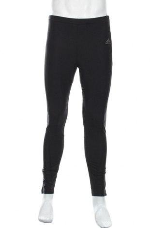 Colanți de bărbați Adidas, Mărime L, Culoare Negru, 75% poliamidă, 25% elastan, Preț 86,21 Lei
