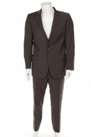 Costum de bărbați Joop!, Mărime L, Culoare Maro, Lână, Preț 716,21 Lei