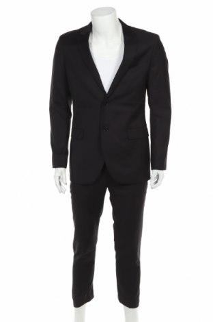 Costum de bărbați Pier One, Mărime M, Culoare Negru, 70% poliester, 30% viscoză, Preț 392,27 Lei