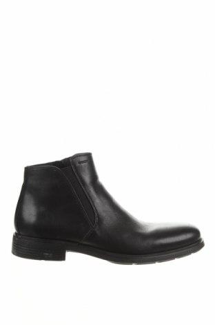 Pánské boty Geox, Velikost 42, Barva Černá, Pravá kůže, Cena  1411,00Kč