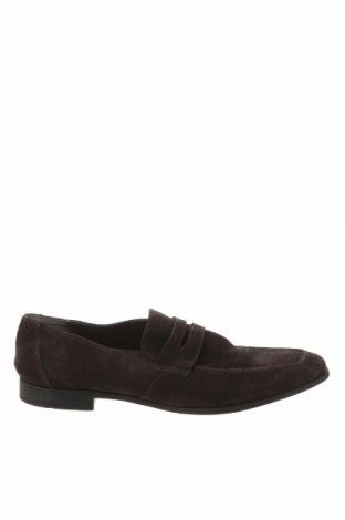 Ανδρικά παπούτσια Kurt Geiger, Μέγεθος 44, Χρώμα Καφέ, Φυσικό σουέτ, Τιμή 30,16€