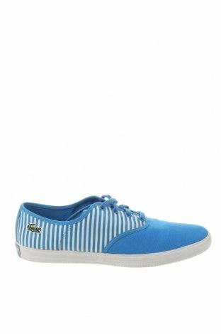 Ανδρικά παπούτσια Lacoste, Μέγεθος 40, Χρώμα Μπλέ, Κλωστοϋφαντουργικά προϊόντα, Τιμή 28,76€