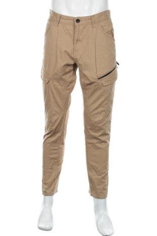 Ανδρικό παντελόνι Angelo Litrico, Μέγεθος L, Χρώμα  Μπέζ, Βαμβάκι, Τιμή 18,19€