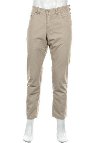 Pantaloni de bărbați Atelier GARDEUR, Mărime L, Culoare Bej, 97% bumbac, 3% elastan, Preț 128,29 Lei